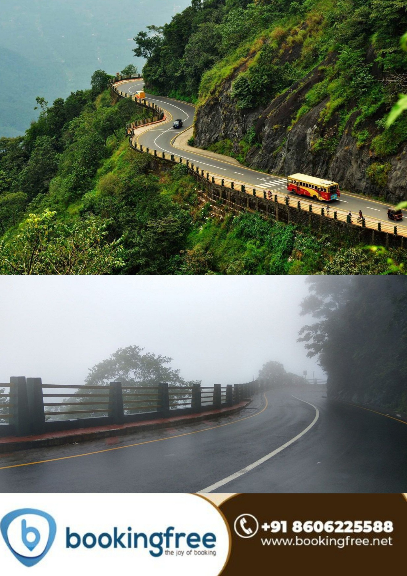 Lakkidi View Point ( Ghat view Point)  Wayanad